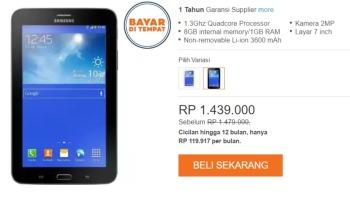 Promo Lazada Samsung Galaxy Mega 2 Rp1549000 Kupon